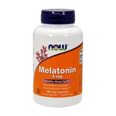 Комплекс NOW Melatonin 5 mg (180 caps)