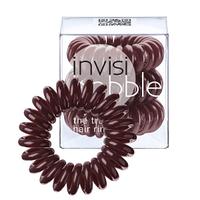 Резинка для волос бордовая, 3шт