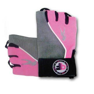 BioTech Pink Fit Gloves (grey-pink) (S, M, L, XL)