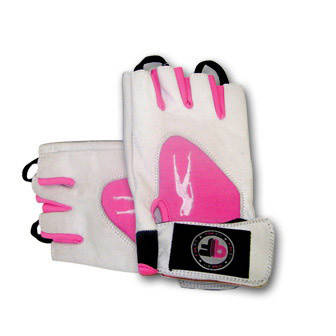 BioTech Pink Fit Gloves (white-pink) (S, M, L, XL)