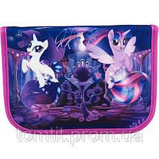 Пенал - книжка My Little Pony (Мои маленькие пони) раскладной с 2 отворотами, ТМ Kite, фото 2
