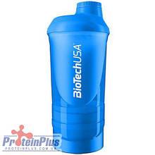 BioTech Shaker Wave+ 3 in 1 Schocking Blue (500 ml)