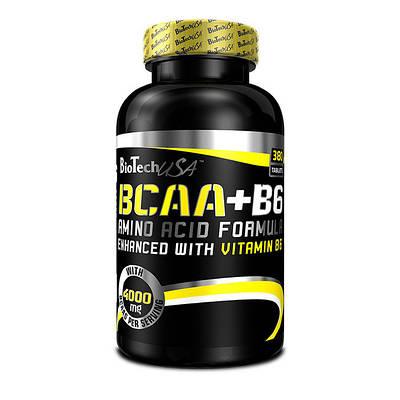 Аминокислота BioTech BCAA + B6 (340 tabs)