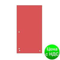 Индекс-разделитель 10, 5х23см (100шт.), картон, красный 8620100-04PL