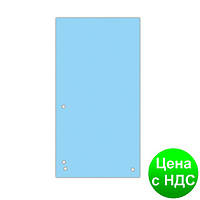 Индекс-разделитель 10, 5х23см (100шт.), картон, синий 8620100-10PL