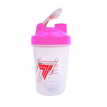 Trec Nutrition Shaker Classic With Metall Ball Pink (400 ml)