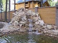 Декоративные искусственные  водопады