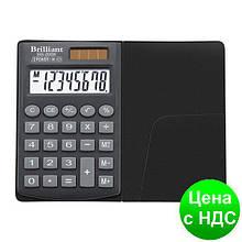 Калькулятор карманный BS-100  8 разрядов, 1-пит BS-200Х