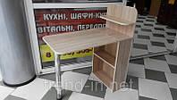 Маникюрный стол с ящиками и полочками дуб сонома