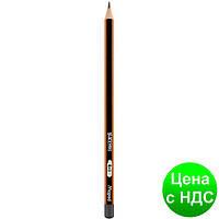 Карандаш графитный BLACK PEPS B, без резинки, коробка с подвесом MP.850024