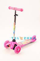 Самокат детский MicMax Disney светящиеся колеса