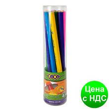 Карандаш графитный JUMBO HB, без резинки, туба (10 шт.) ZB.2340-10