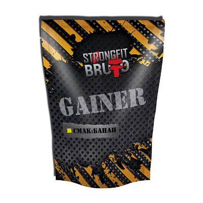 Гейнер Strong Fit Brutto Gainer (909 g)