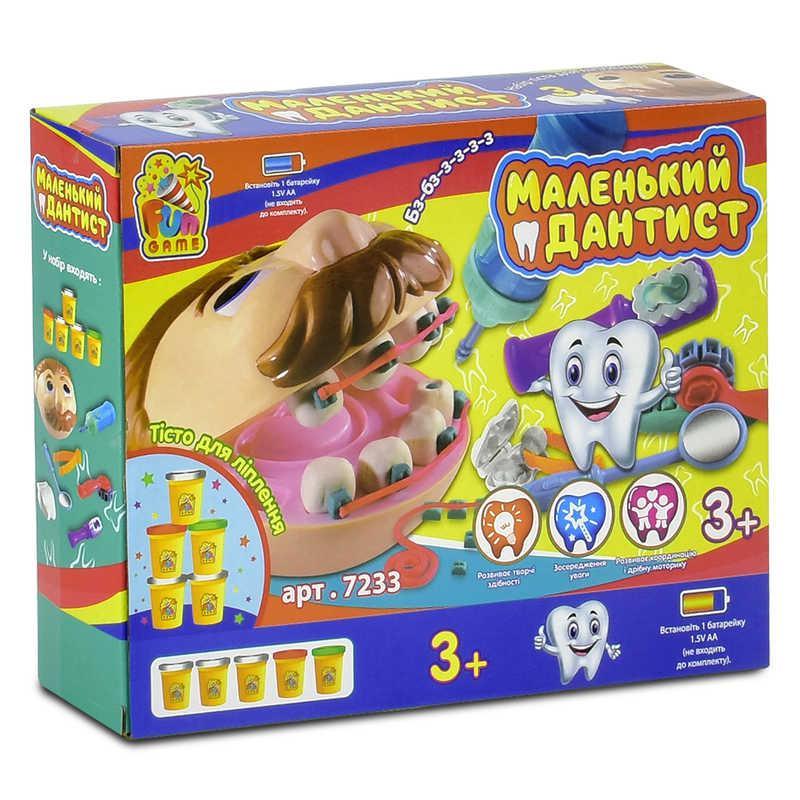 """Игра 7233 """"Маленький дантист"""" (12) в коробке """"FUN GAME"""""""