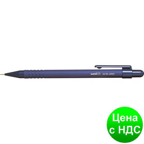 Карандаш механический uni U5-102 0.5мм, синий U5-102.Blue, фото 2