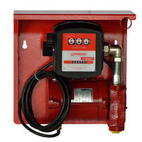 Насос для заправки, перекачки бензина, керосина, ДТ со счетчиком SAG 600 + MG80V, 24В, 45-50 л/мин, фото 1
