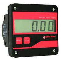 Электронный счетчик MGE 110 для дизельного топлива, масла, 5—110 л/мин, +/-0,5%
