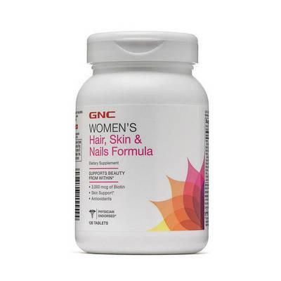 Комплекс GNC Women's Hair, Skin & Nails Formula (120 tabs)