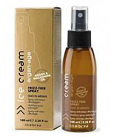 Спрей с маслом аргана и макадамии Inebrya Argan Age Frizz-Free Spray 100 мл.