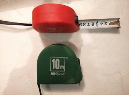 """Рулетка измерительная """"Jobi"""" длина: 10 метра"""