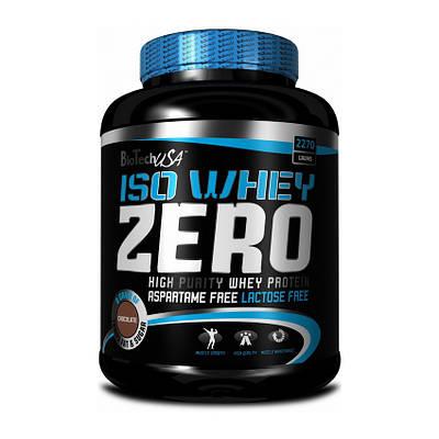 Протеин BioTech Iso Whey Zero (2,27 kg)
