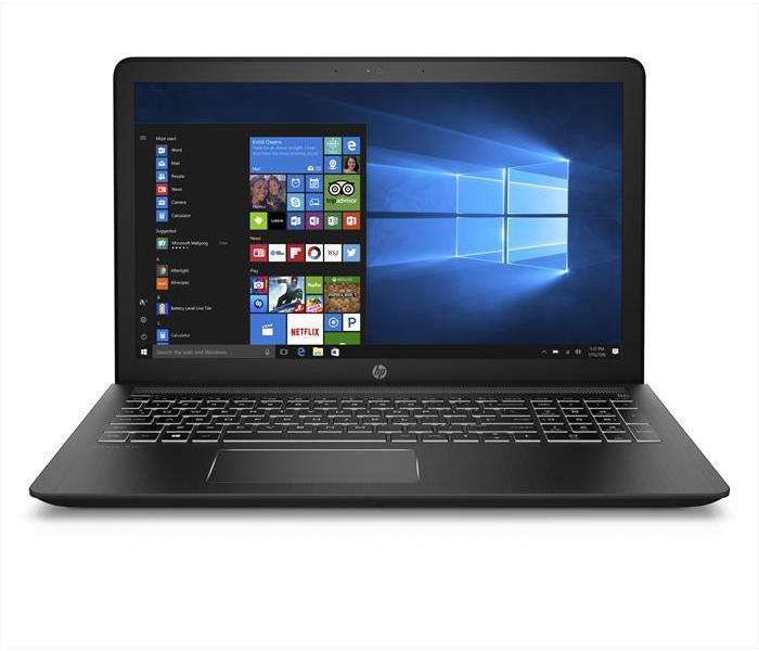 Ноутбук HP Pavilion 15, 15,6 FHD IPS, Intel Core i7-7700HQ(3.8ГГц), 8ГБ, SSD 128GB + 1Tb HDD, GeForce GTX 1050