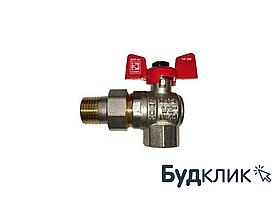 Solomon Кран Шаровый Pn 40 1/2 С Американкой Угловой