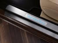 Накладки на пороги с подсветкой на короткую базу Mercedes (Мерседес) S W221 (оригинал) B66890190