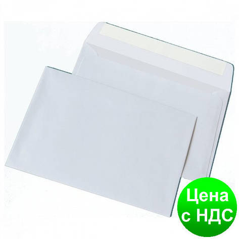 Конверт С6 (114х162мм) белый МК 1012, фото 2