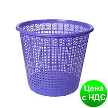 Корзина для бумаг 8 л,  JOBMAX, фиолетовая ZB.3040-07