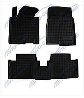 Резиновые коврики Avto- Gumm для  Lada (Ваз) Калина 1117-19 '04  - комплект 4 шт.