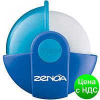 Ластик ZENOA в поворотном защитном футляре, дисплей ассорти MP.511320