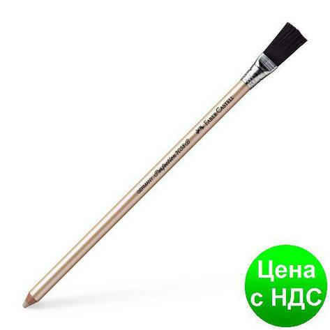 Ластик профессиональный 185800 ЛАСТИК-КАРАНДАШ 7058 С КИСТОЧКОЙ 2581, фото 2