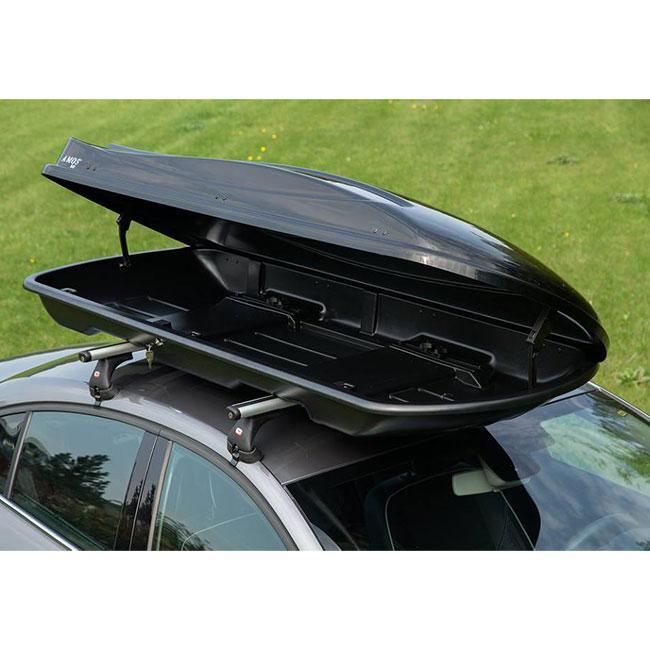 Багажный бокс на крышу автомобиля Amos Travel Pack 500 черный