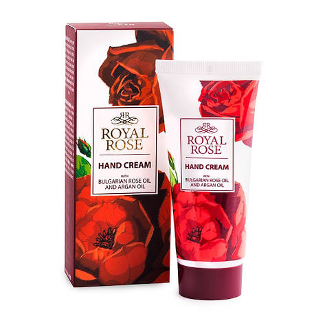 Крем для рук с маслом розы и аргана Royal Rose от BioFresh 50 мл, фото 2