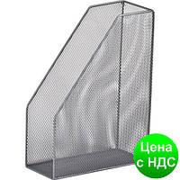 Лоток для бумаг вертикальний 80x230x300мм, металлический, серебро BM.6260-24