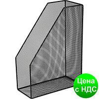 Лоток для бумаг вертикальний 80x230x300мм, металлический, черный BM.6260-01