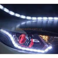 Ходовые огни Crystal LED DRL, ДХО с бегущим поворотом