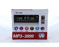 Автомагнитола с сенсорным дисплеем MP3 3899 ISO 1DIN