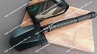 Складная лопата военная сапёрская с компасом