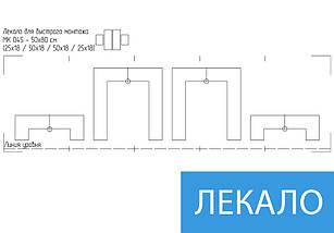 Заказать картину модульную Инь  Янь на Холсте син., 50x80 см, (25x18-2/50х18-2), фото 3