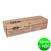 Мел белый 100 шт., карт. коробка ZB.6712-12