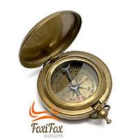 Карманный компас с крышкой Antic