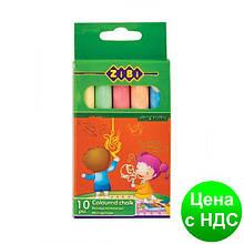 Мел цветной 10шт., картонная коробка ZB.6700-99
