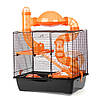 Клетка для домашних хомячков ™️ Inter Zoo ROCKY + TERRACE G137 (420*290*500 мм)