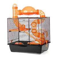 Клетка для домашних хомячков ™️ Inter Zoo ROCKY + TERRACE G137 (420*290*500 мм), фото 1