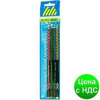 Набор карандашей графитовых HB, ESTILO, ассорти, с ластиком, 4шт./блистер BM.8524-4