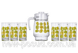 Набор для напитков Luminarc Amsterdam Meline 7 предметов N0826