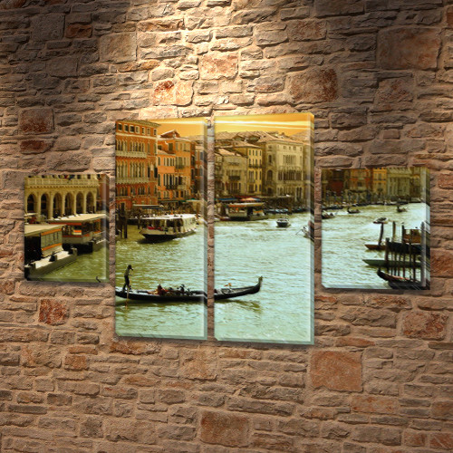 Картины на стену купить модульные, на Холсте син., 50x80 см, (25x18-2/50х18-2)