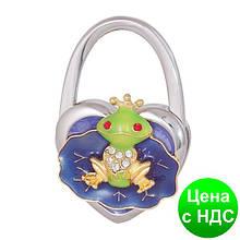 """Набір подарунковий """"Fairy Tale"""": ручка кулькова + гачок д/ сумки, фіолетовий LS.122027-07"""
